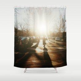 City Life Shower Curtain