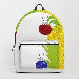 Pineapple Christmas Decoration Backpack