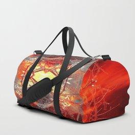 Spontaneous human combustion Duffle Bag
