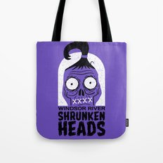 Shrunken Heads Tote Bag