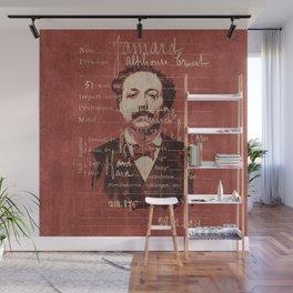 ROGUES GALLERY / 1894 Criminology - Bertillonage 004 Wall Mural