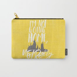 I'm Not Going Home, Not Really-Hogwarts-Hufflepuff Carry-All Pouch