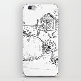 Harvest Sketch iPhone Skin