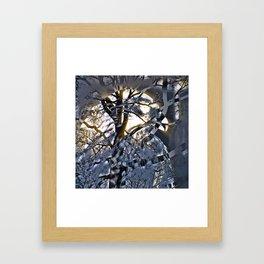 Intruder Incognito - Hawk, v4 Framed Art Print