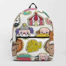 circus cookies multi Backpack