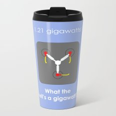 Back to the Future - Flux Capacitor Metal Travel Mug