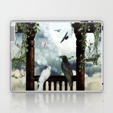 The crow and the dove Laptop & iPad Skin