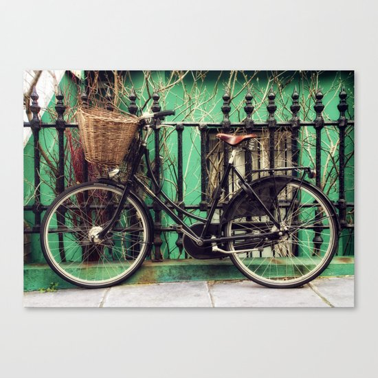 Bicycle at Rest Canvas Print