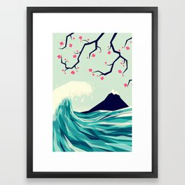 Falling in love 2 Framed Art Print
