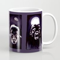 howl Mugs featuring Howl by Zombie Rust