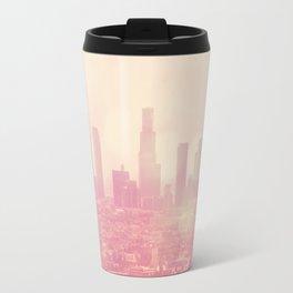 City of Dreamers. Los Angeles skyline photograph Travel Mug