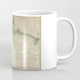 Map of Louisiana and Florida Gulf Coast (1778) Coffee Mug