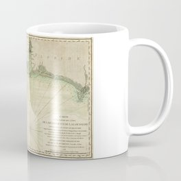 Map of Louisiana and Florida Gulf Coast (1778) Coffee Mug