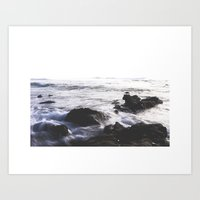 Black Dust Art Print