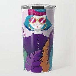 Lisa in the Garden Travel Mug