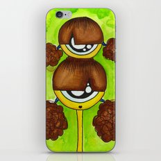 Siamese Aliem iPhone & iPod Skin