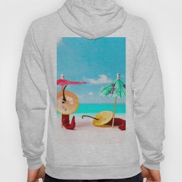 The Red, the Hot, the Chili on the beach Hoody