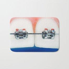 Dental braces Bath Mat