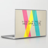 darren criss Laptop & iPad Skins featuring Once Upon A Time - Darren Criss (Listen Up Tour) by Nephie