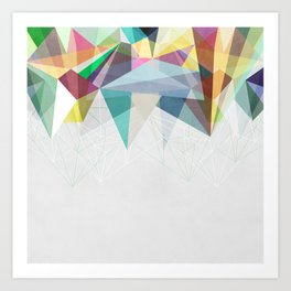 Colorflash 2 Art Print