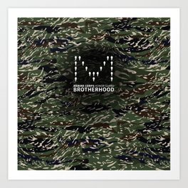 MCHG Brotherhood Camouflage Art Print