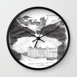 Fairmont Chateau, Lake Louise Wall Clock
