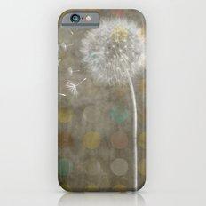 Vintage dandelion iPhone 6s Slim Case
