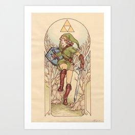 Power, Wisdom, Courage Art Print