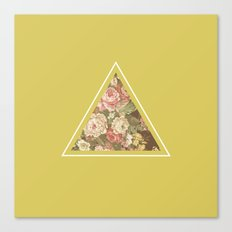 Floribus Trianguli Canvas Print