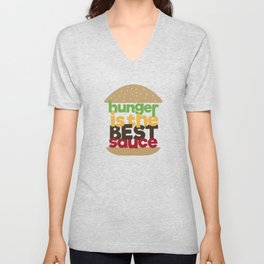 the best sauce Unisex V-Neck