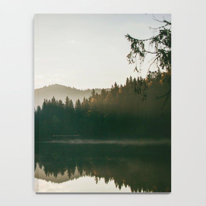 Morning lake Notebook