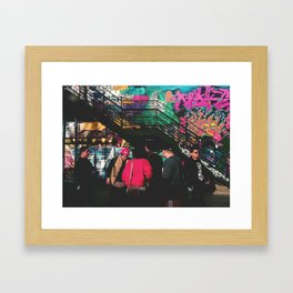 Me and The Homies. Framed Art Print