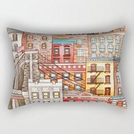 Brooklyn, New York Rectangular Pillow