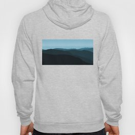 Blue Mountainscape Hoody