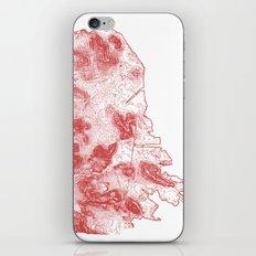 San Francisco Topography  iPhone & iPod Skin