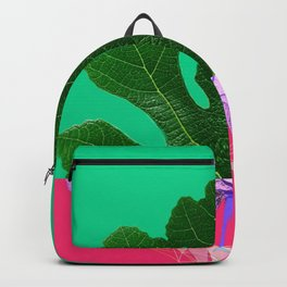 Fig Leaf Diamond Christmas - Other Half and Half Backpack