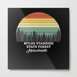 Myles Standish State Forest Massachusetts Metal Print