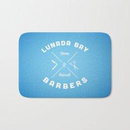 Barber Shop : Lunada Bay Barbers Bath Mat