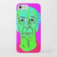larry david iPhone & iPod Cases featuring Larry David 5 by Alyssa Underwood Contemporary Art