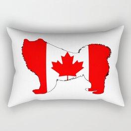 "Samoyed ""Canada"" Rectangular Pillow"