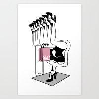 never enough Art Print