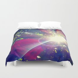 Petals of Light Duvet Cover