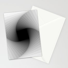 Square spiral - Bright Stationery Cards