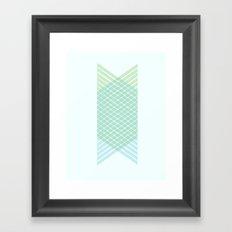 wait what? Framed Art Print