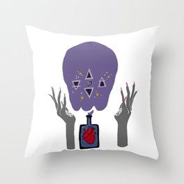 Elements Of The Heart Throw Pillow