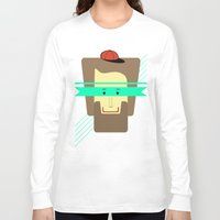 superhero Long Sleeve T-shirts featuring current superhero by AmDuf