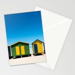 Hightech beach huts Stationery Cards