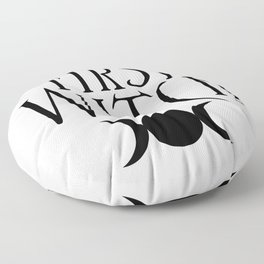 First Witch Floor Pillow