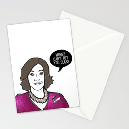 Money can't buy you class Stationery Cards