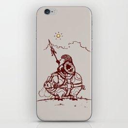 Nature Warriors: Battle Hedgehog iPhone Skin